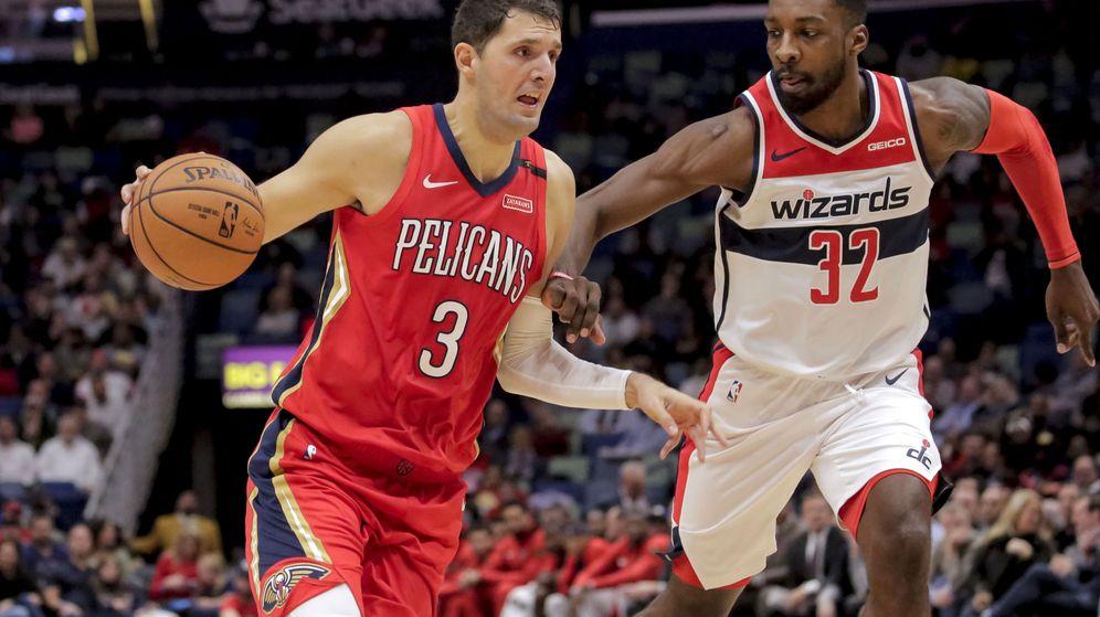 Foto: Nikola Mirotic jugará en uno de los candidatos a llegar a la final de la NBA. (USA TODAY Sports)