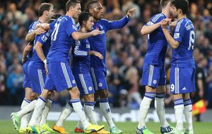 Costa reaparece con el Chelsea para participar en la victoria 'blue'