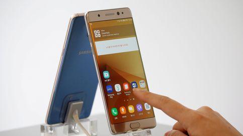Samsung para la producción de su Galaxy Note 7 tras los incendios