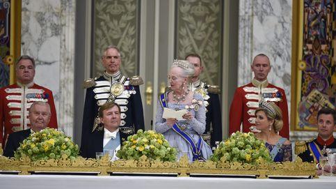 Cena de gala en Dinamarca en honor a los reyes de Holanda