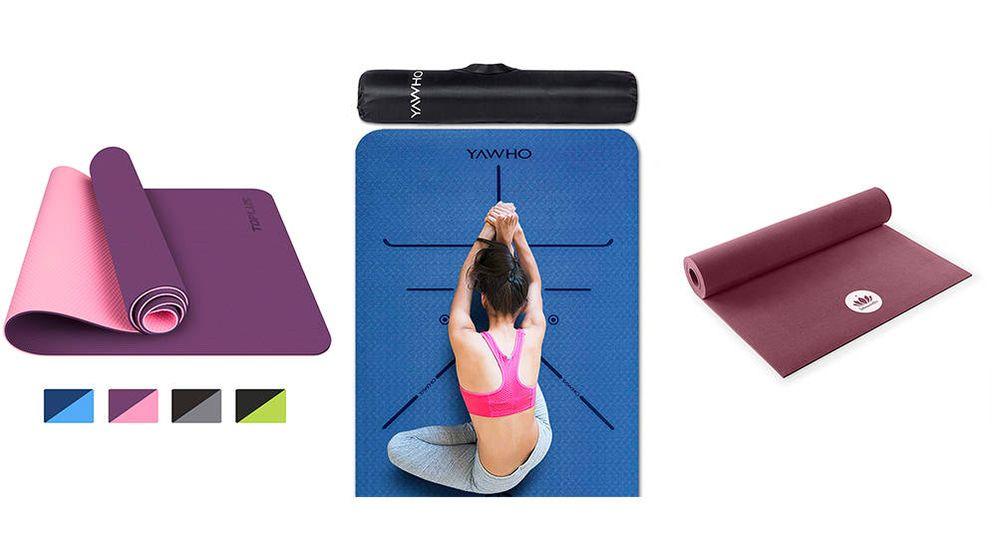 Las mejores esterillas de yoga: consejos para acertar con tu compra
