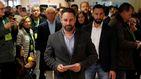 Sede abarrotada, veto a Prisa y prudencia en el nuevo cuartel general de Abascal
