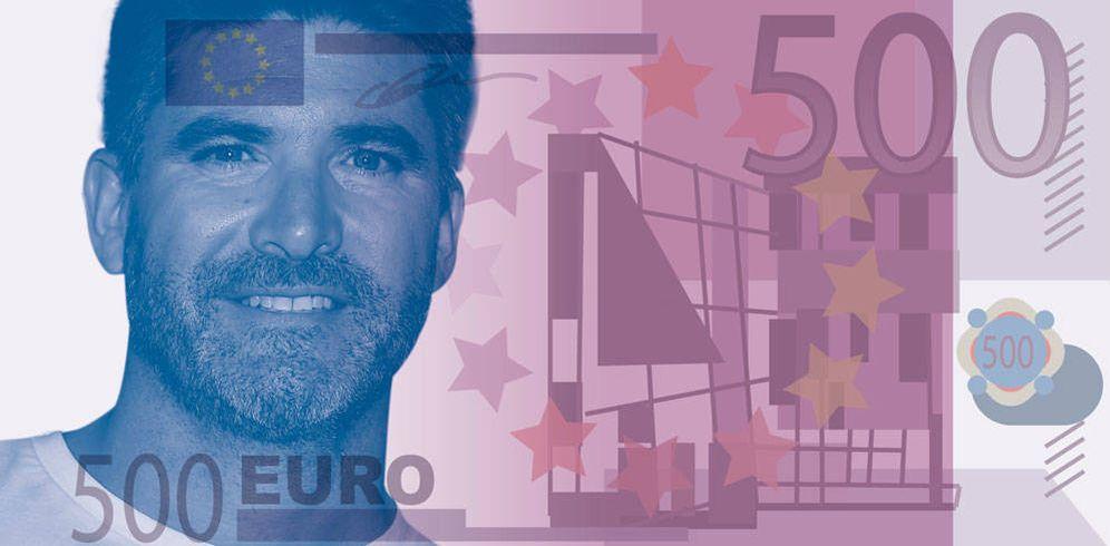 Foto: Toño Sanchís en un montaje realizado por Vanitatis.