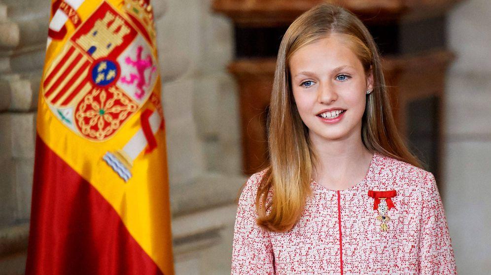 Foto: La princesa Leonor, en una imagen de archivo. (Getty)