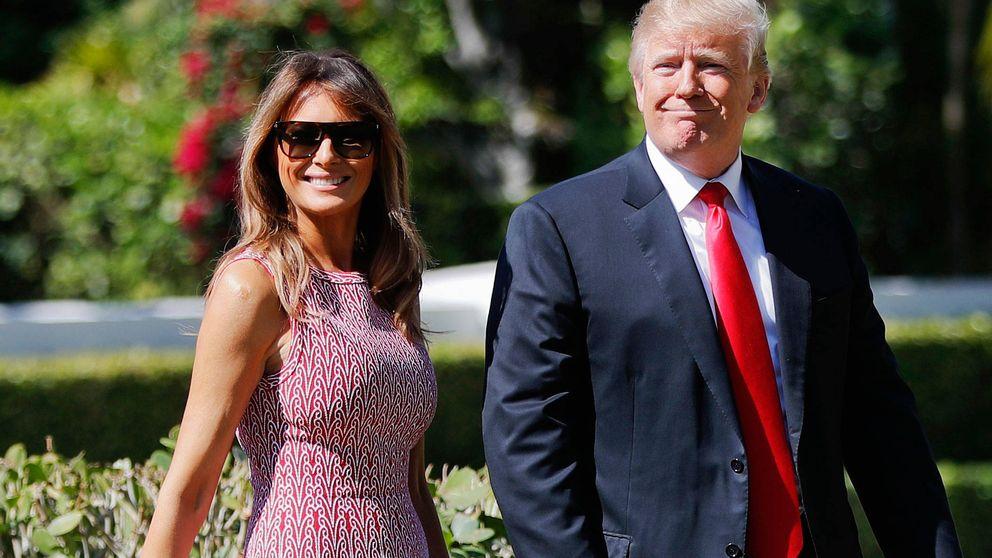 El look de Pascua de Melania Trump que cuesta casi 4.000 dólares