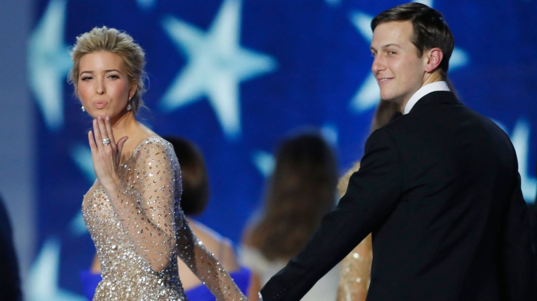 Ivanka Trump y Jared Kushner. (Getty)