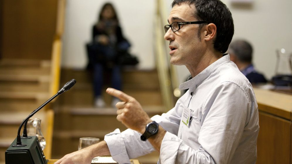 Foto: El parlamentario de EH Bildu Julen Arzuaga. (EFE)