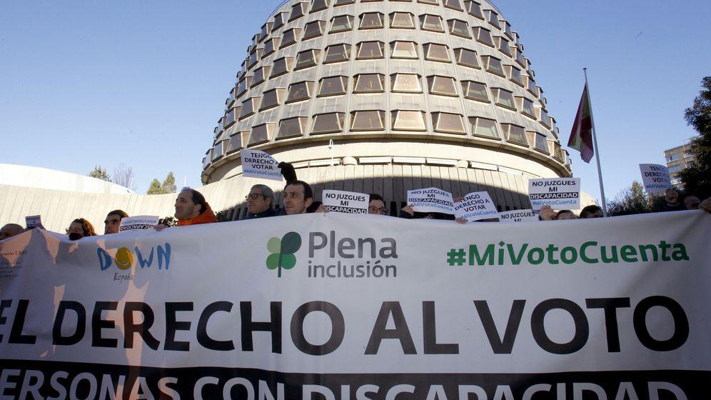 Foto: El derecho al voto ha sido una larga exigencia de las personas con discapacidad intelectual (EFE/Javier Tormo)