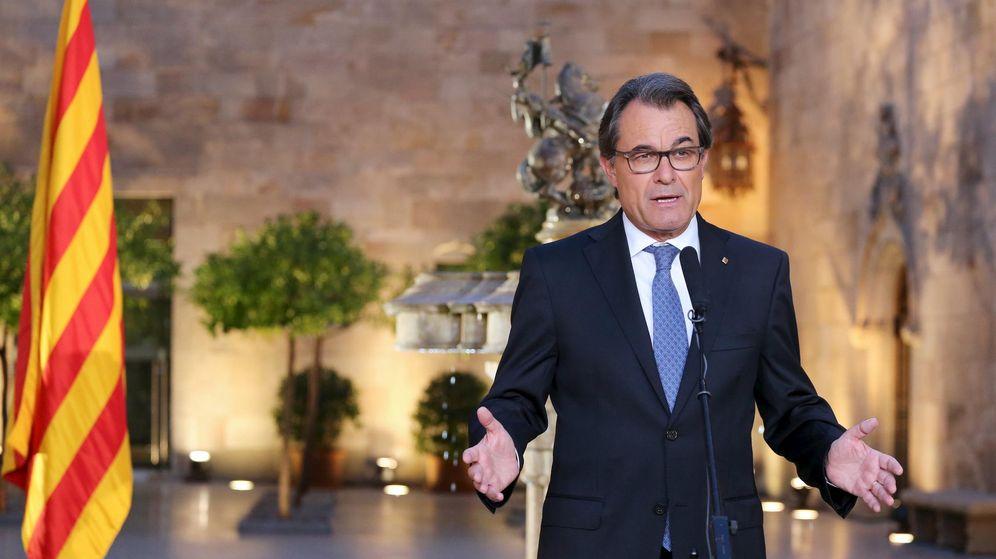 Foto: El president Artur Mas en el palau de la Generalitat. Foto (Reuters)