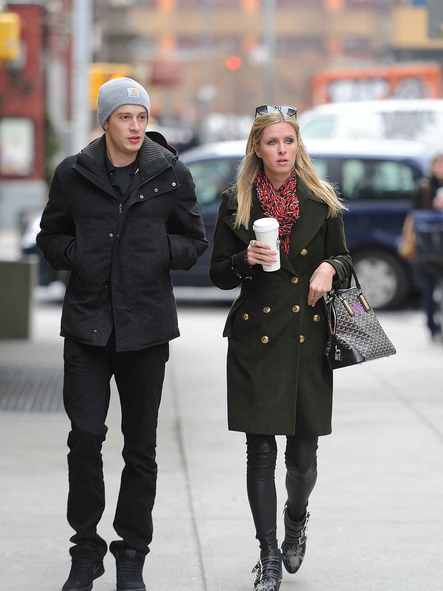 Nicky Hilton junto a su prometido James Rothschild (Gtres)