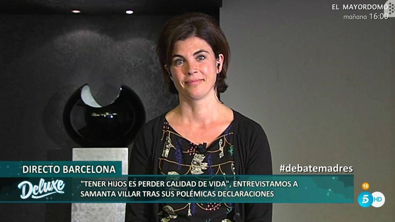 Foto: Samanta Villar en 'Sábado Deluxe'