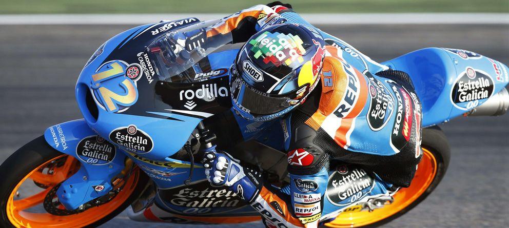 Foto: Álex Márquez es nuevo líder de Moto3 al acabar segundo tras Fenati en MotorLand