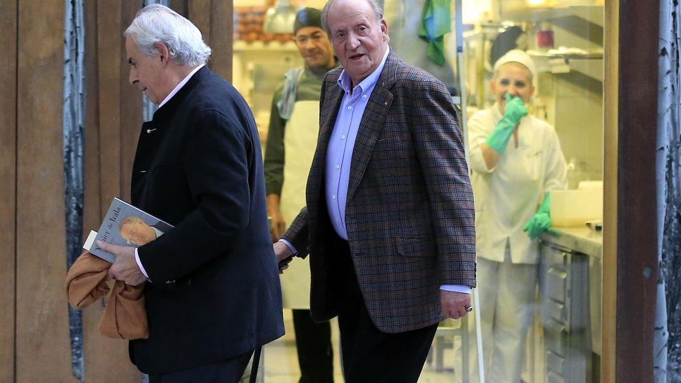 El Rey Juan Carlos celebra en solitario el 40 aniversario de su coronación
