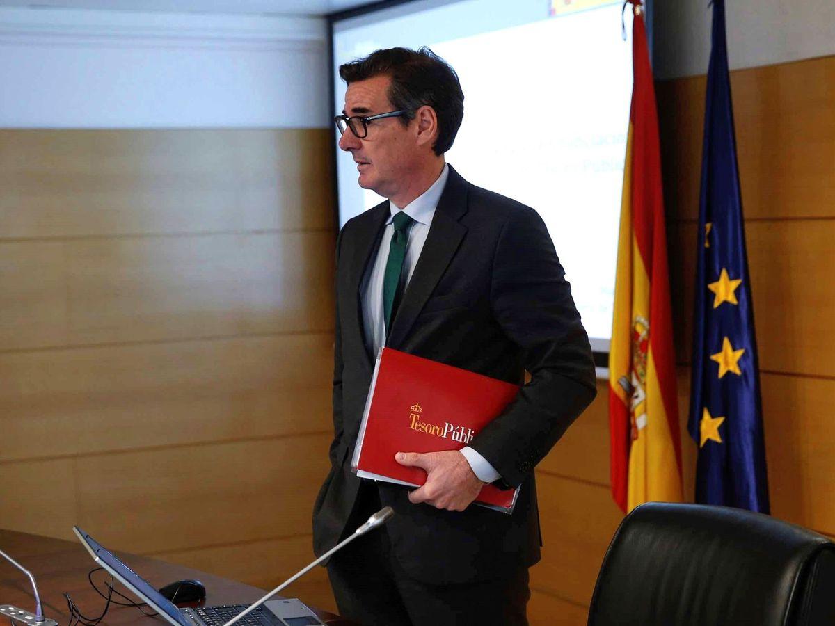 Foto: El secretario general del Tesoro y Financiación Internacional, Carlos San Basilio. (EFE)