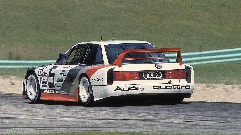En 1989 Audi se inventó el 90 Quattro IMSA GTO para competir en el famoso campeonato de prototipos 'silueta' americano. Y lo ganó.