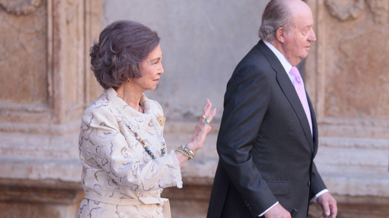 La reina Sofía y el rey Juan Carlos, en una imagen de archivo. (Reuters)