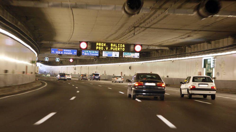 Foto: Túneles de la M-30.