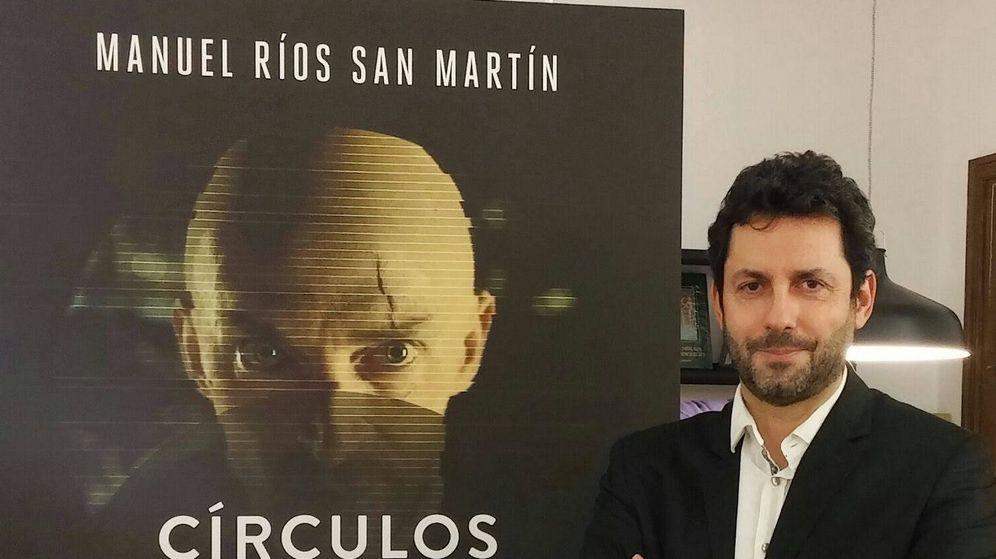 Foto: Manuel Ríos San Martín durante la presentación de 'Círculos' (Foto: Helene Desplechin)