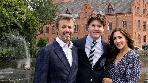 Christian de Dinamarca, 'avanzadilla' de Leonor: ya se ha instalado en su internado