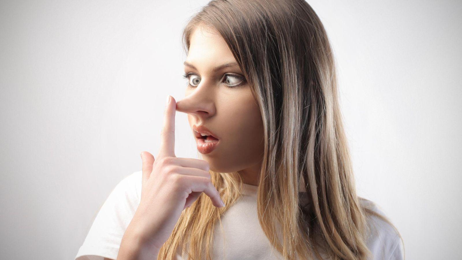 Foto: No creas todo lo que te cuenten: a los mentirosos no les crece la nariz. (iStock)