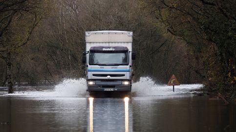 La borrasca Fabien deja sin electricidad a 17.000 hogares en Galicia por el temporal