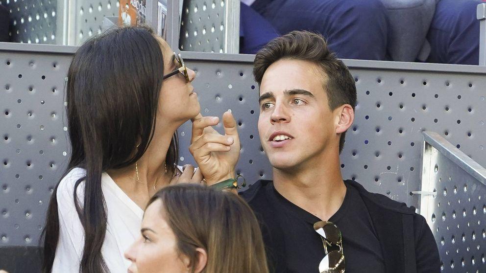 Victoria Federica y Gonzalo Caballero: el amor triunfa en el Open de tenis