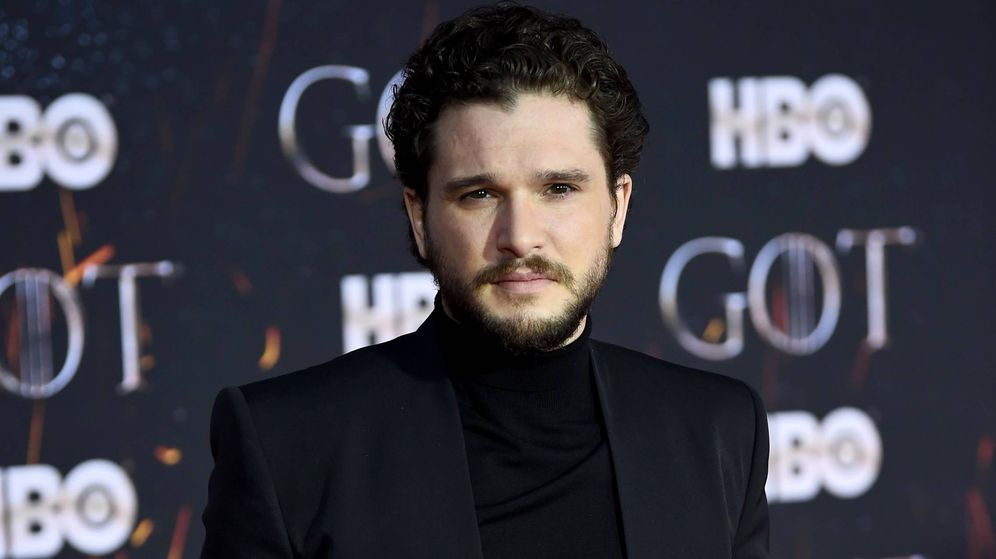 Foto:  Kit Harington, en rehabilitación. (Getty)