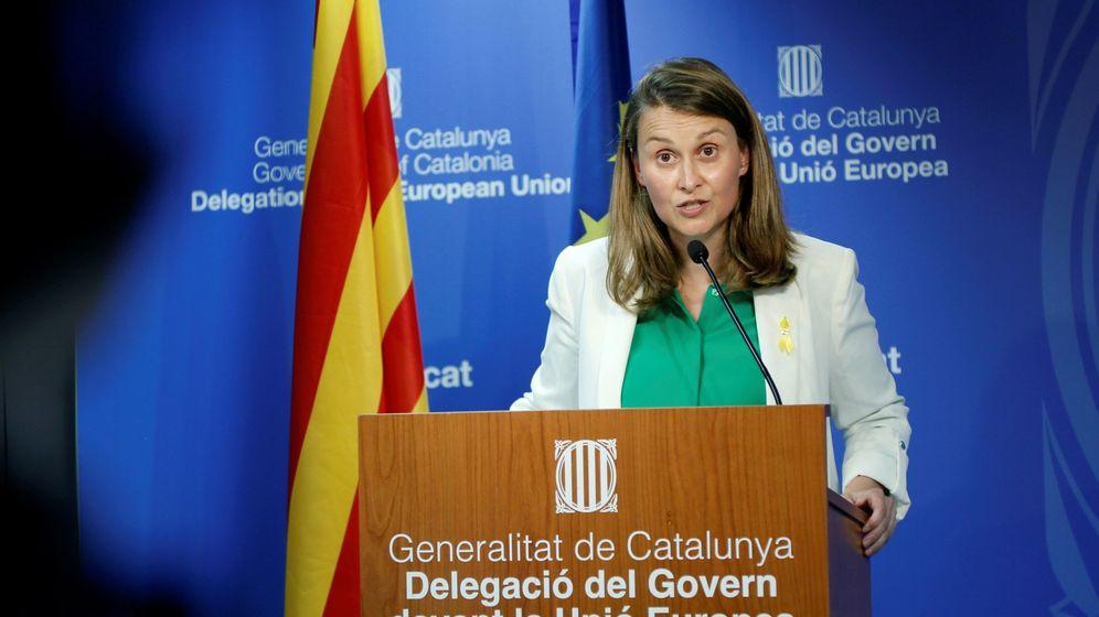 Foto: La delegada de la oficina de la Generalitat en Bruselas, Meritxell Serret. (EFE)