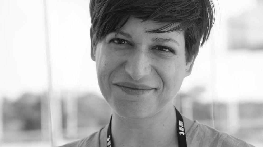 Foto: Lorena Jaume-Palasí es la cofundadora de AlgorithmWatch, que evalúa los procesos algorítimicos que tienen una relevancia social (Foto: Steffen Leidel, Deutsche Welle)