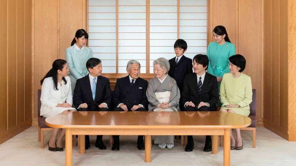 Foto: La familia imperial de Japón. (Reuters)