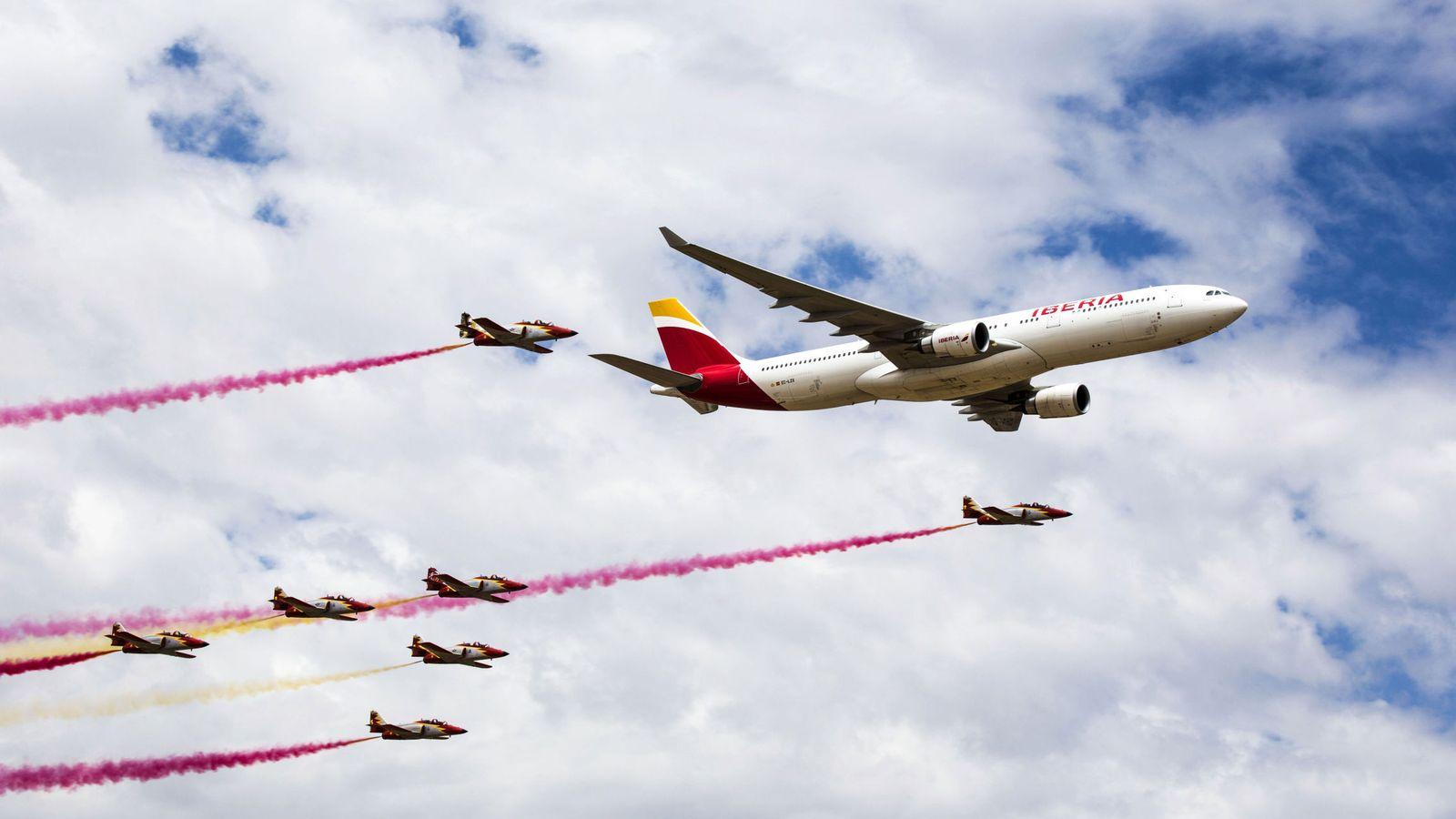 Foto: Iberia devuelve el golpe a Norwegian con nuevas rutas en 'su' territorio. (EFE)