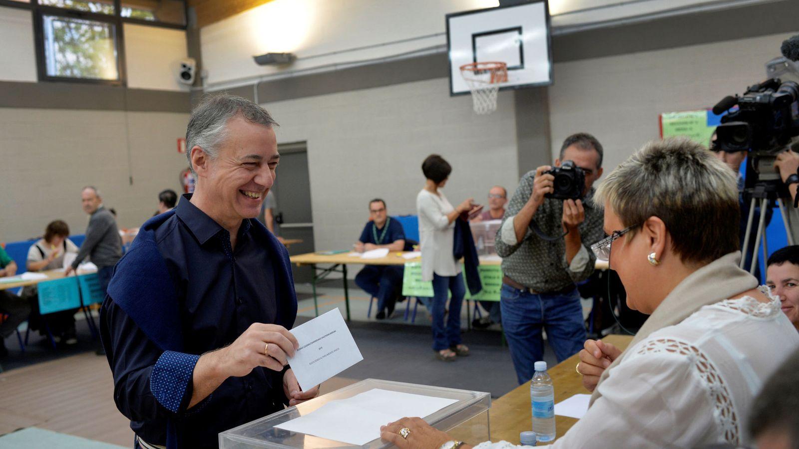 Foto: Iñigo Urkullu, líder del PNV (EFE)