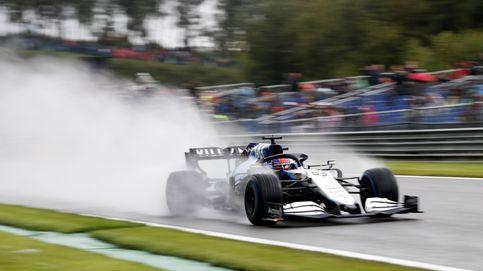 Rusell se cuela entre Verstappen y Hamilton; Sainz (12º) y Alonso (14º), fuera de la Q3