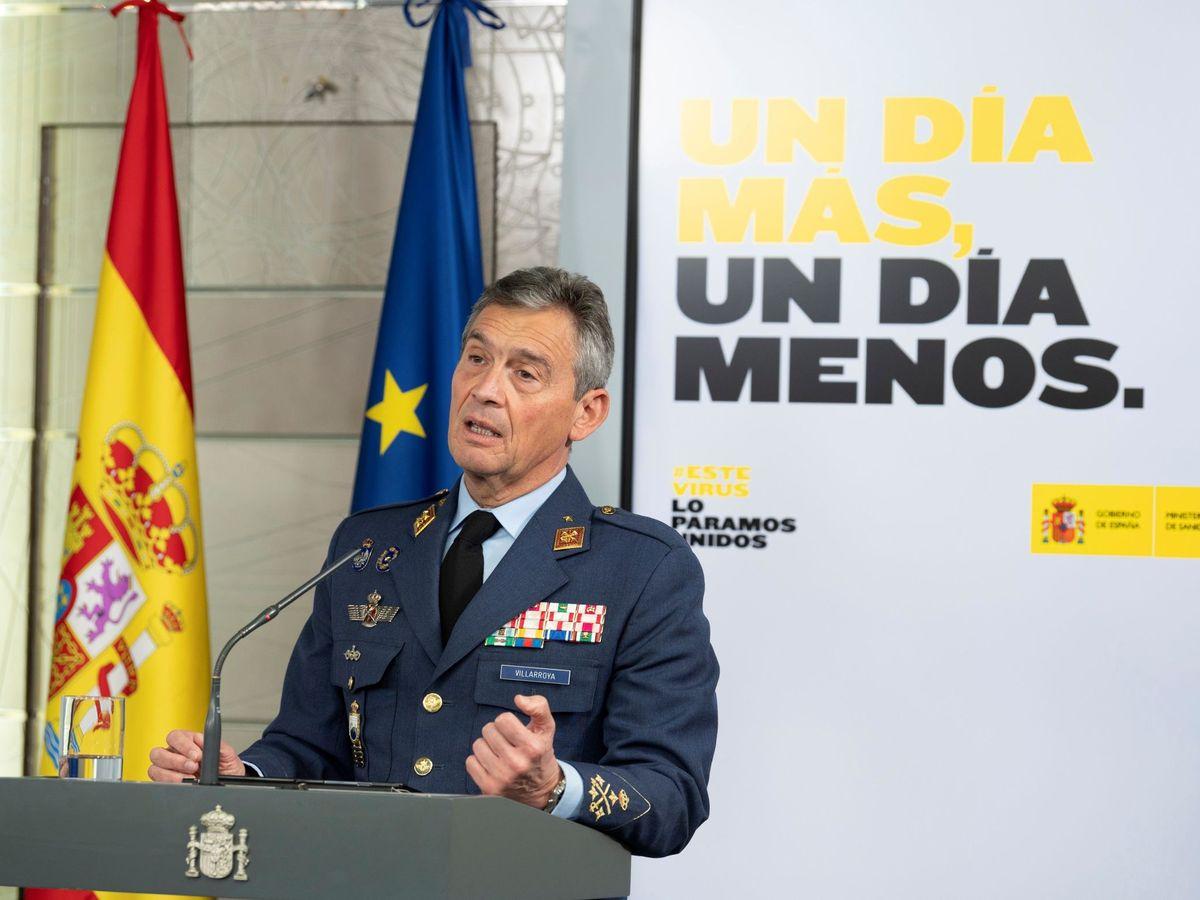 Foto: El exjefe del Estado Mayor de la Defensa (JEMAD), Miguel Villarroya. (EFE)