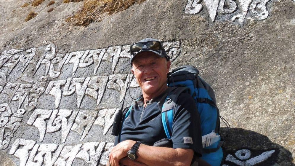 Foto: Fernando Garrido, guía de alta montaña y recordman de aislamiento en altura. (F. G.)