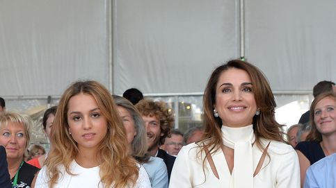 Imán de Jordania, hija de Rania, ya ejerce de princesa