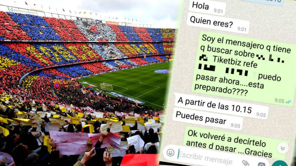 Así funciona la reventa masiva de abonos del Barça gracias a Glovo