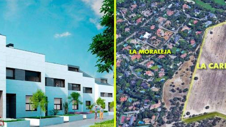 Zona conocida como Carrascosa, en La Moraleja, donde se ha regularizado el proyecto de cerca de 200 chalets unifamiliares