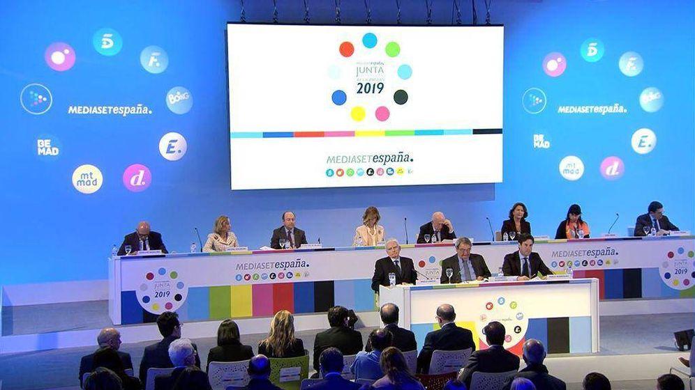 Foto: Junta General de Accionistas 2019 de Mediaset.