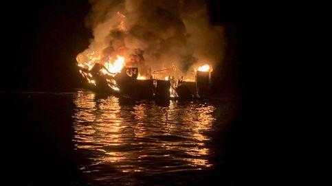 Nuevas imágenes del brutal incendio del Conception