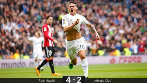 El Athletic no le tuvo miedo al Madrid de Zidane, pero también salió escaldado