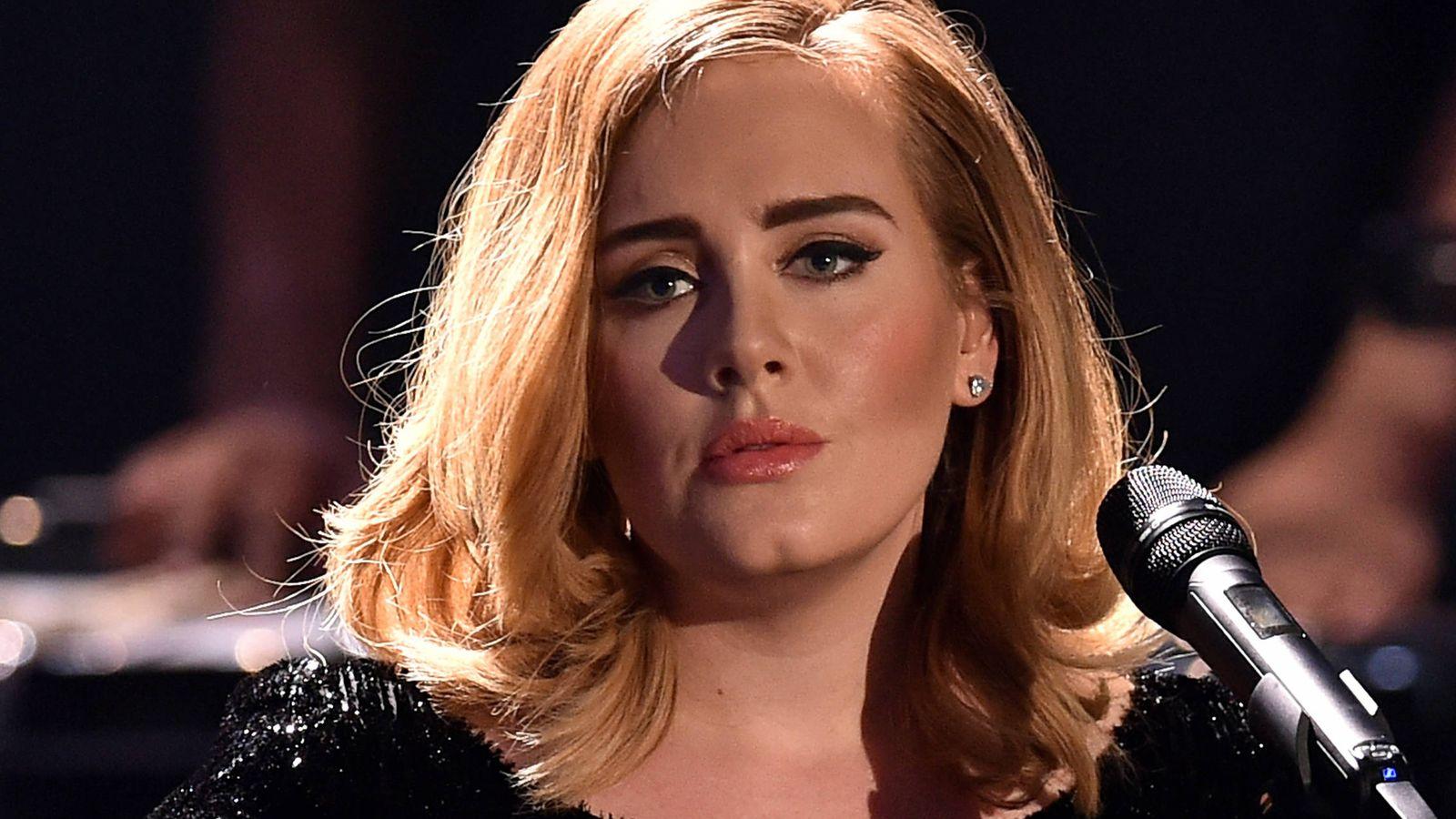 Foto:  Adele, en una imagen de archivo. (Getty)