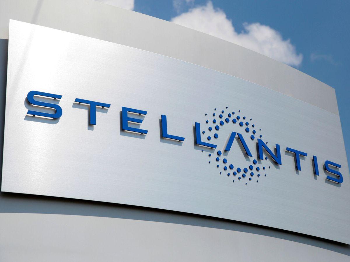 Foto: Logo de Stellantis (EFE)