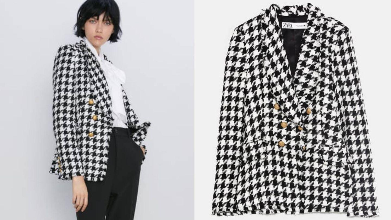 Disponible en Zara, entre las tallas XS y XXL. (Cortesía)