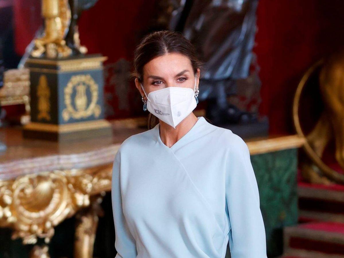 Foto: La reina Letizia, en el Palacio Real. (Limited Pictures)