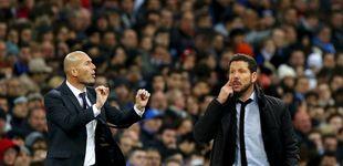 Post de Florentino, Zidane, Simeone, Gabi y el último derbi en el Calderón