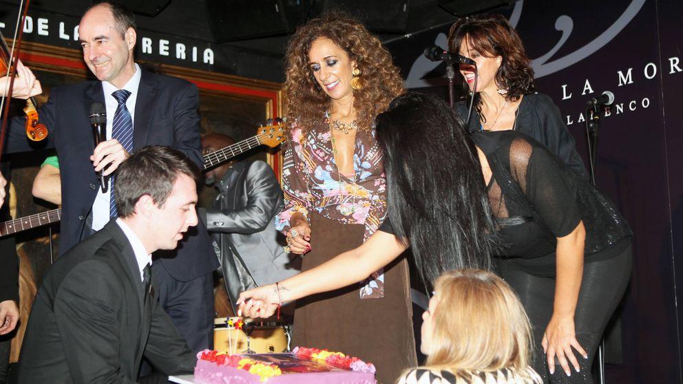 La original fiesta de cumpleaños de Rosario Flores con Rossy de Palma y Bibiana Fernández