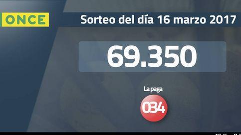 Resultados de la ONCE del 16 marzo 2017: número 69.350