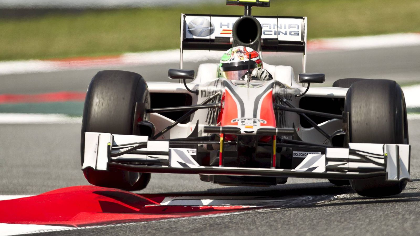 Foto: El monoplaza de HRT en la temporada 2011. (EFE)