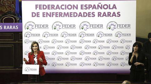 Doña Letizia acompaña a los pacientes de enfermedades raras